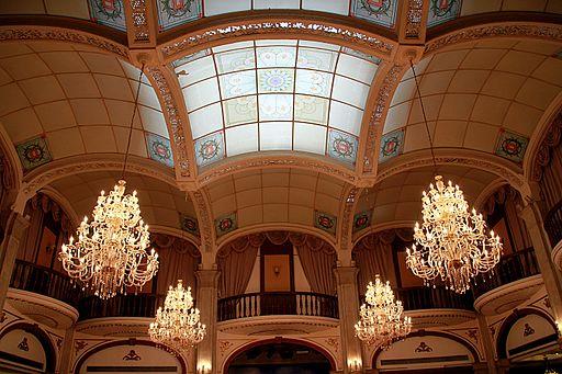 Astor house hotel diningroom ceiling