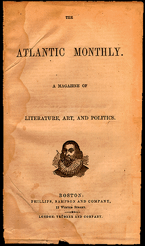 The Atlantic - Image: Atlantic Monthly 1857