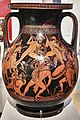 Attic red-figure pelike with a Gigantomachy (about 400 B.C.) at the National Archaeological Museum of Athens on 4 June 2018.jpg