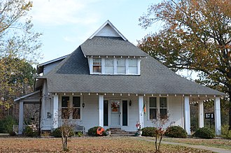 National Register of Historic Places listings in Cleveland County, Arkansas - Image: Attwood Hopson House