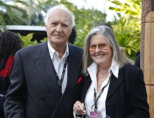 Robert Loggia - Robert and wife Audrey at the 2012 Miami International Film Festival