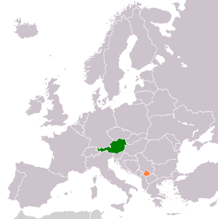 Diplomatic relations between the Republic of Austria and Kosovo