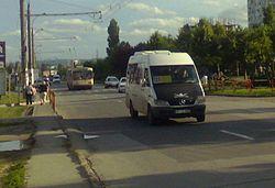 Кишинёвское маршрутное такси.