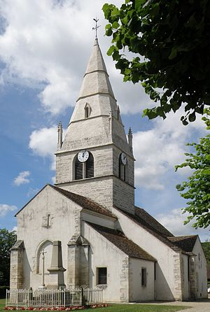 Auxey-Duresses - The Church of Saint-Martin