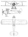 Avia BH-28 3-view Le Document aéronautique August,1927.png