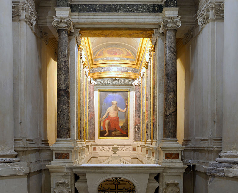 Avila Chapel with framework of St. Girolamo.jpg