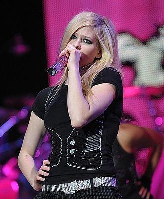 I Hate Boys - Image: Avril Lavigne in Amsterdam, 2008 X (crop)