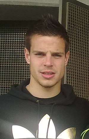 English: César Azpilicueta.