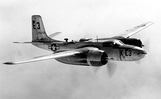 Light bomber - The A-26 Invader, a light bomber.