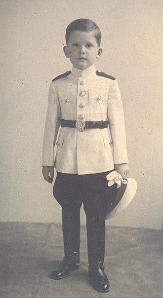 Simeon Saxe-Coburg-Gotha - Prince Simeon of Bulgaria