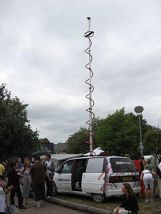 BBC Radio Oxford - BBC Oxford radio car at the Cowley Road Festival 2010