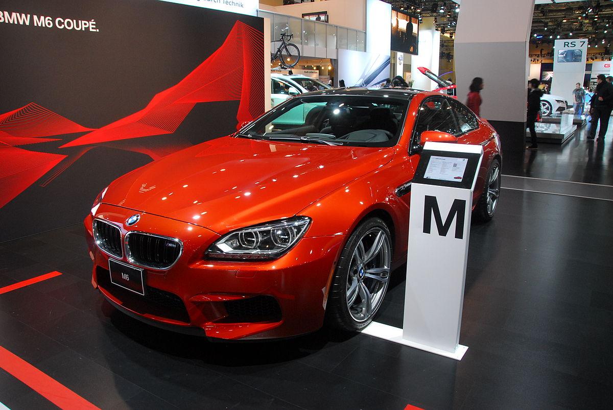 Bmw 3 Series >> BMW M6 - Wikipedia