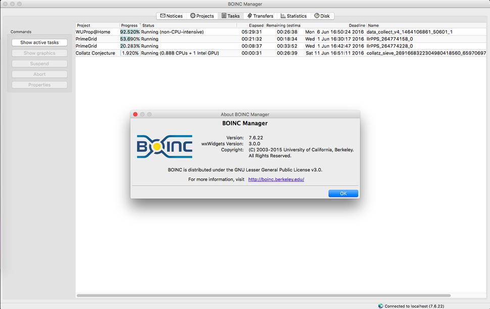BOINCconproyectos