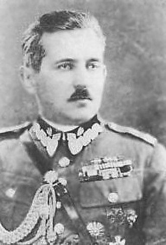 Belarusian People's Republic - President and General Stanisław Bułak-Bałachowicz.