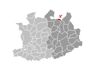 Baarle-Hertog - Image: Baarle Hertog Locatie