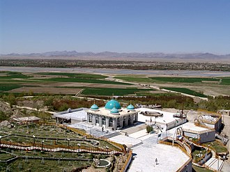 Arghandab District - The Shrine of Baba Wali in the Arghandab district.