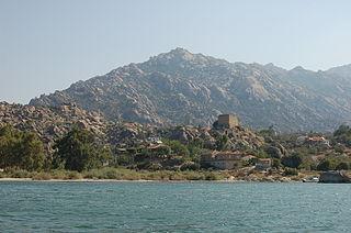 Beşparmak Mountains mountain range
