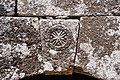 Bafetin (بافتين), Syria - Arch keystone with cross medallion of unidentified structure - PHBZ024 2016 4549 - Dumbarton Oaks.jpg