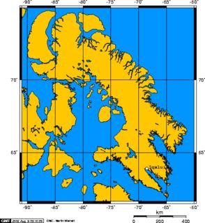 mostly Arctic island in Nunavut, Canada