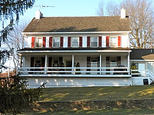 National Register of Historic Places listings in southern Chester County, Pennsylvania - Image: Baily Farm Back