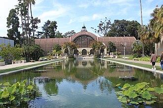 El Prado Complex - Image: Balboa Park Botanical Building 4 2010 04 27