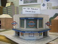 Balham Paper Kit Station - Museum Depot - London Transport Museum Open Weekend March 2012 (6971239781).jpg