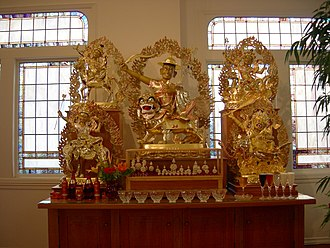 Ghosts in Tibetan culture - Statue of Dorje Shugden