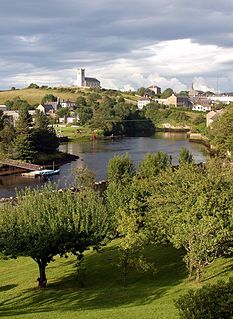 River Erne river in Ireland and the UK