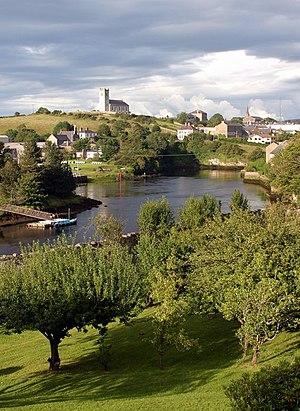 Ballyshannon - Lough Erne and Ballyshannon.