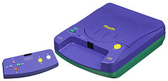 Playdia, created by Bandai. A console consisting of quiz games. Released in Japan on September 23, 1994, for ¥24,800.