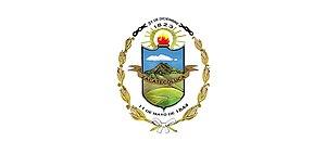 Flags of country subdivisions - Image: Bandera del Departamento de La Paz