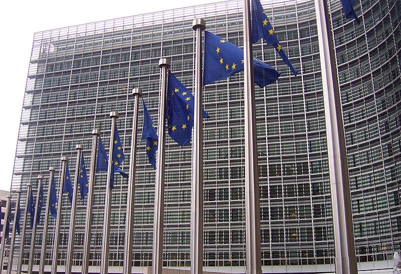File:Banderas europeas en la Comisión Europea.jpg