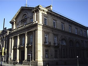 Bank of England Building, Liverpool - Image: Bank of England, Castle Street geograph.org.uk 333493