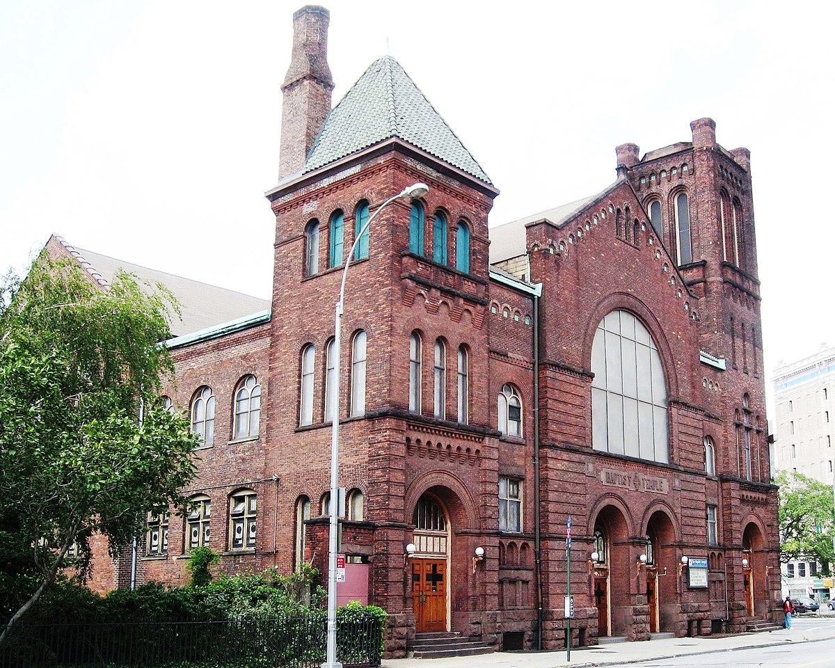 baptist temple brooklyn wikipedia