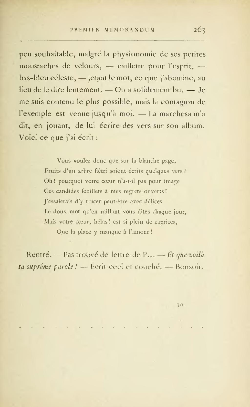 Page Barbey D Aurevilly Premier Memorandum 1900 Djvu 269 Wikisource