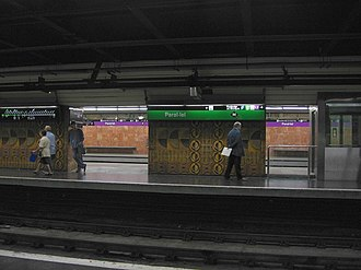Paral·lel (Barcelona Metro) - Image: Barcelona Metro Parallel