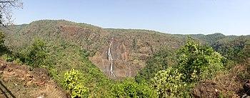 Barehipani Falls panoramic view.jpg