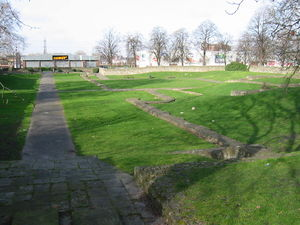Barking Abbey - Image: Barking abbey ruins london