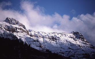 Barronette Peak - Image: Barronette Peak YNP