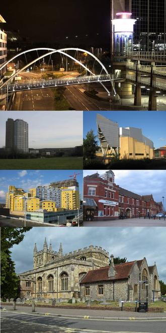 Basingstoke - Image: Basingstoke montage
