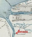 Batavia op een plantagekaart.jpg