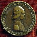 Battista elia da genova, medaglia di battista II di campofregoso, doge di genova nel 1478-83.JPG