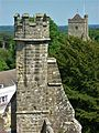 Battle Abbey, view from gatehouse 02.jpg
