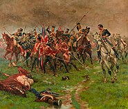 Battle of Albuhera, by William Barnes Wollen