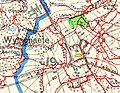 Battle of Messines - planning map cropped mit Ort Wytschaete.jpg