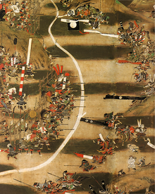 Battle of Nagashino 17-18th century painted screen.png