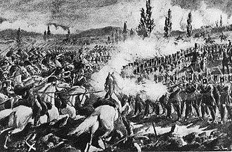 Battle of Segesvár - Image: Battle of Segesvár Bellony