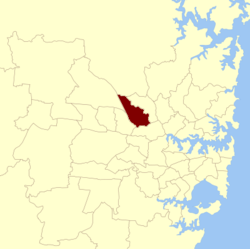 Baulkham hills NSW State Electoral District.png