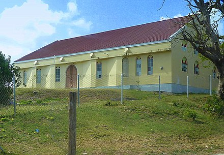Baxter Memorial Church in English Harbour, Antigua. Baxter Memorial Methodist Church - panoramio.jpg