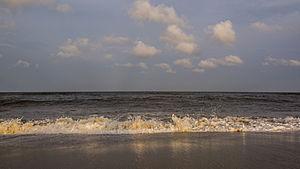 Waves, North Carolina - The beach at Waves